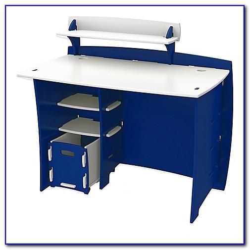 Legare Desk With Hutch Blue