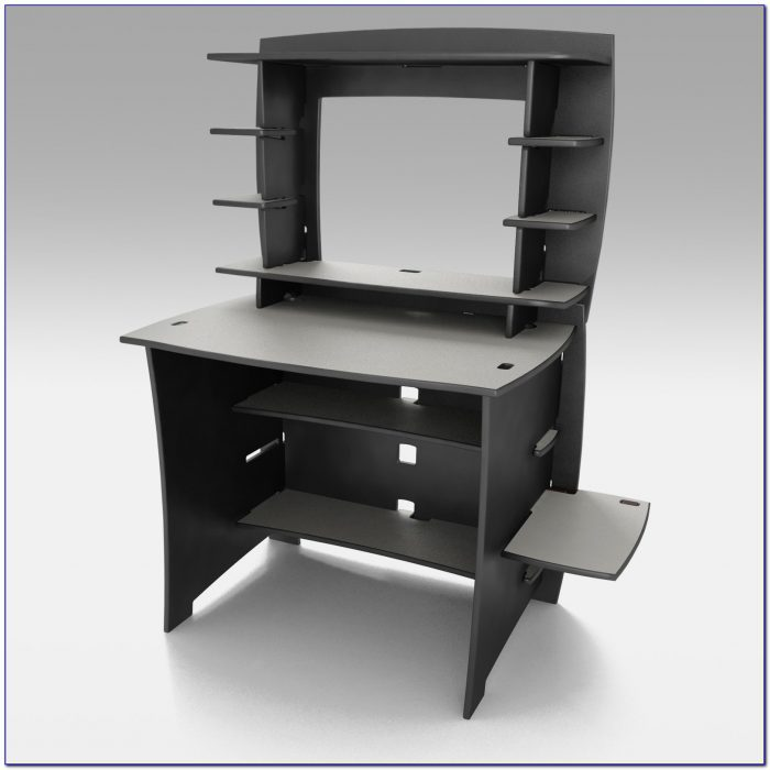 Legare White Writing Desk With Hutch