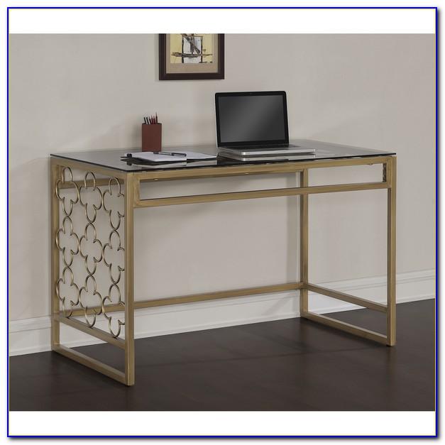 Metal And Glass Desks