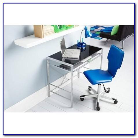 Metal And Glass Writing Desks