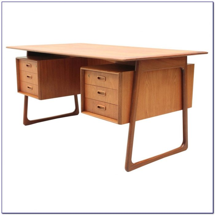 Danish Mid Century Teak Desk Desk Home Design Ideas
