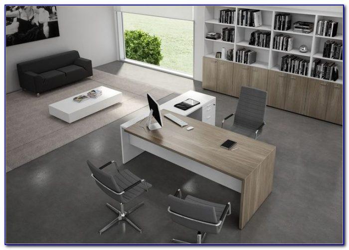 Modern Glass Desks For Office