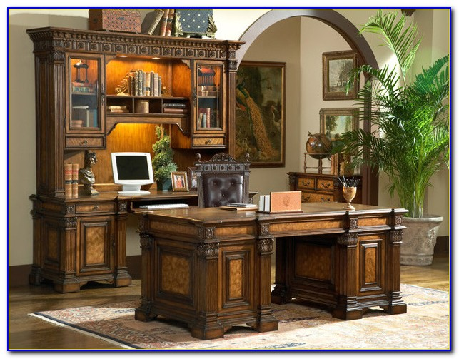 Modern Home Office Executive Desk