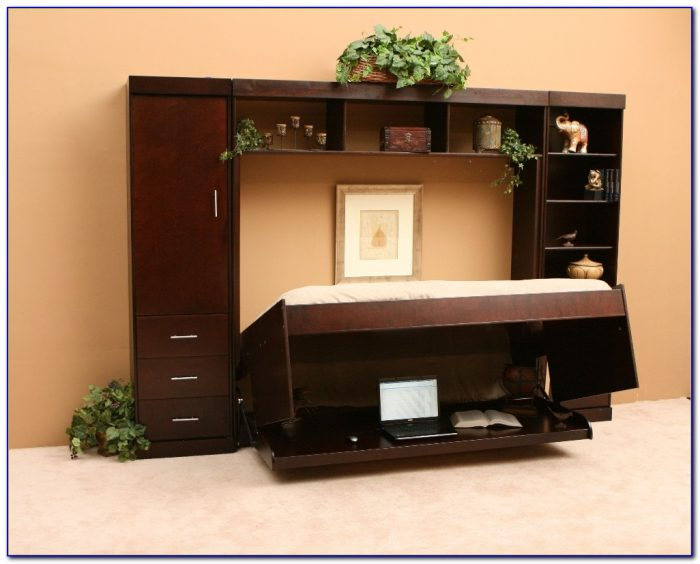Hidden Bed Desk Queen Desk Home Design Ideas