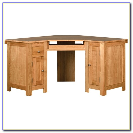 Oak Corner Computer Desk Uk