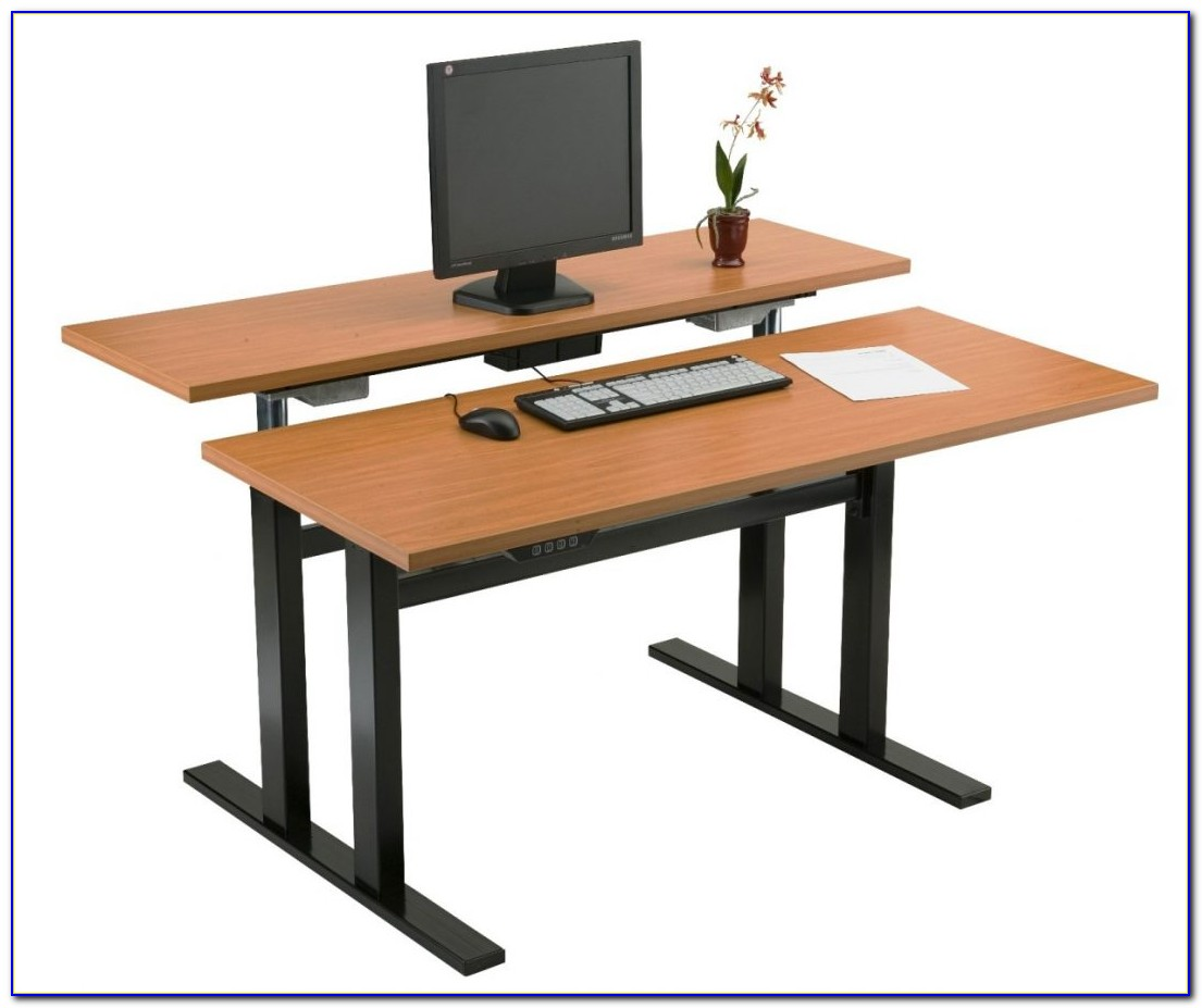 Office furniture standing desk adjustable desk home for Standing office desk furniture