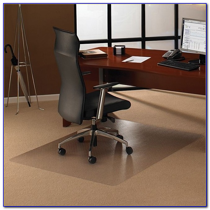 Plastic desk chair floor mat desk home design ideas for Parquet in pvc ikea