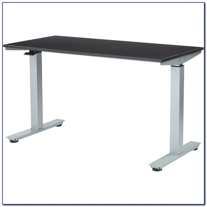 Pneumatic Sit Stand Adjustable Computer Desk Desk Home