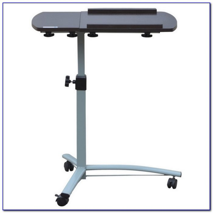 Portable Laptop Desk On Wheels Desk Home Design Ideas