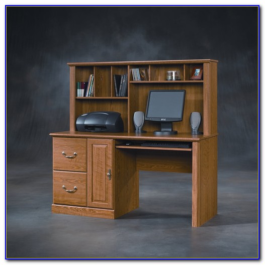 Sauder Palladia Select Cherry Computer Desk