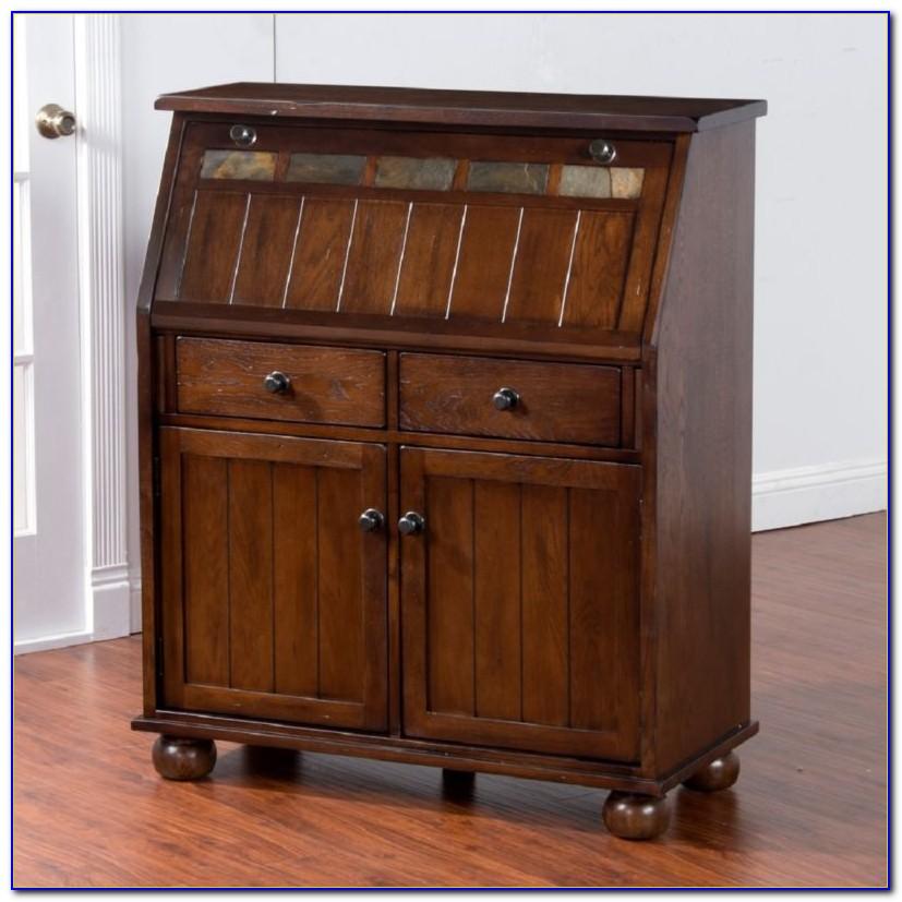 Secretary Desk With File Storage