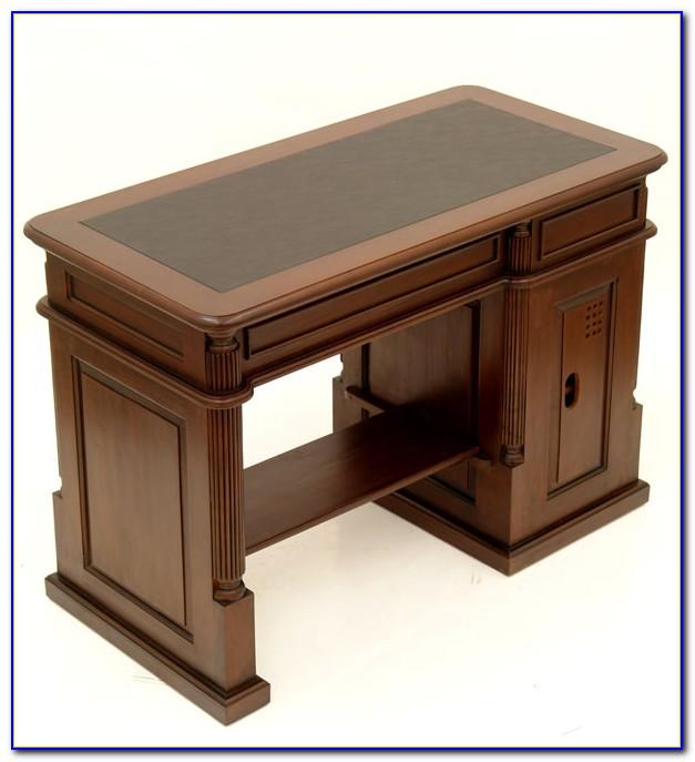Secretary Style Computer Desk