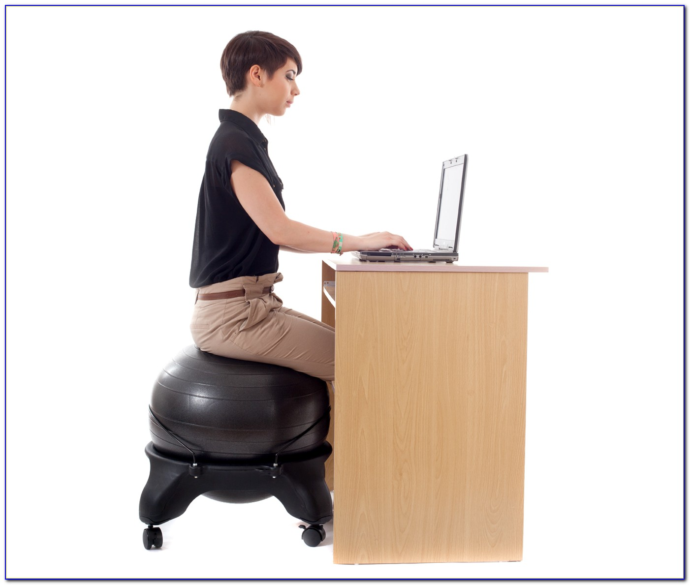 Sitting On Yoga Ball At Desk Calories