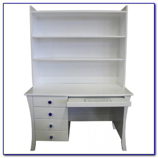 Small Children's Desk With Hutch