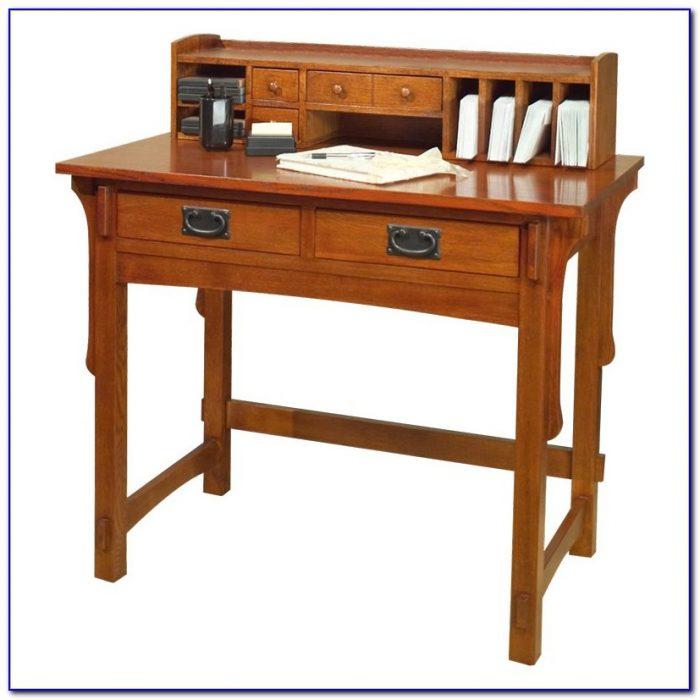 Small Desk And Hutch