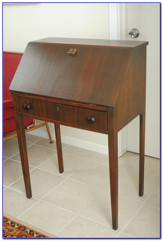Small drop front writing desk home design ideas