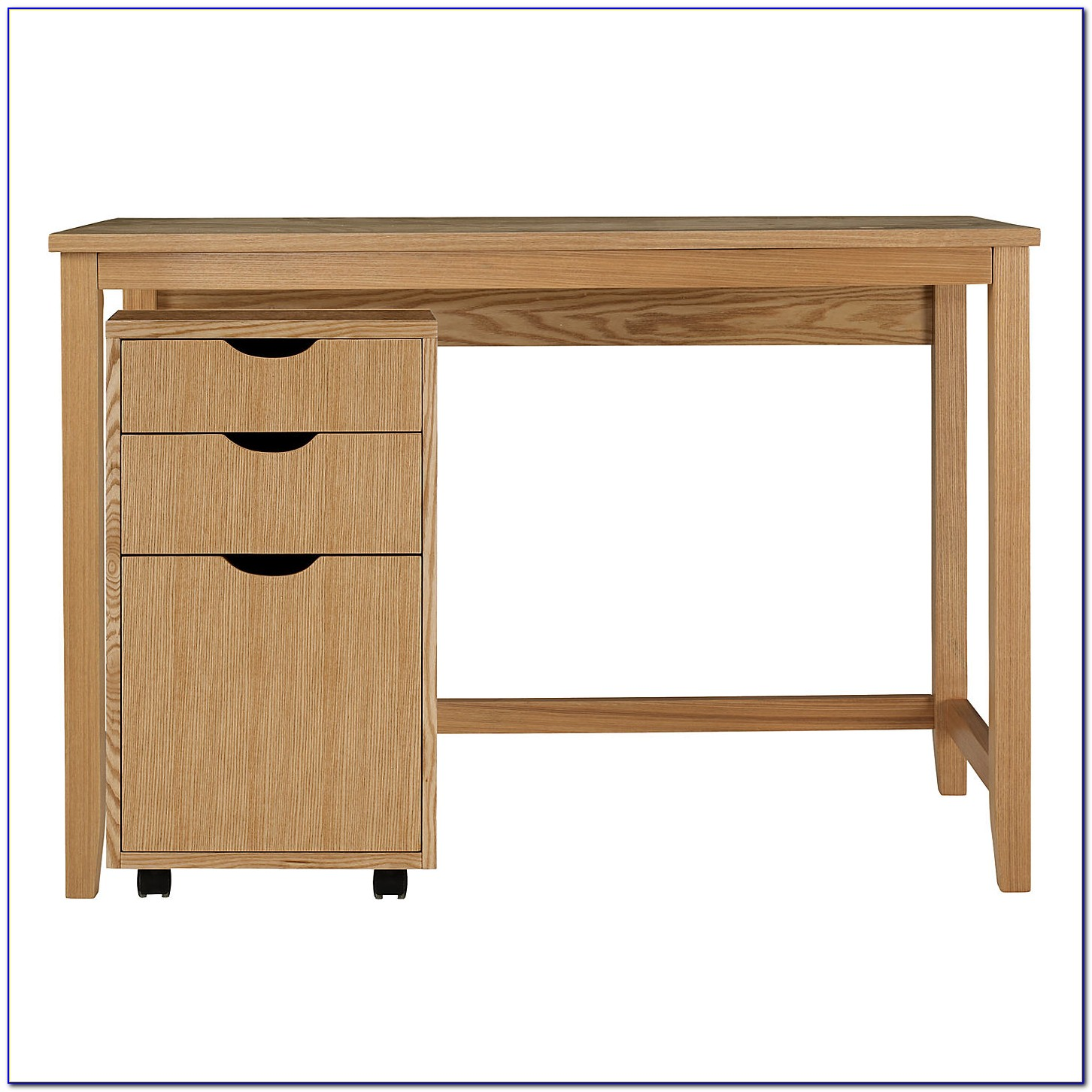 Oak Desk With Drawers ~ Small oak writing desk with drawers home design