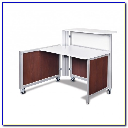 Small Reception Desk With Transaction Counter