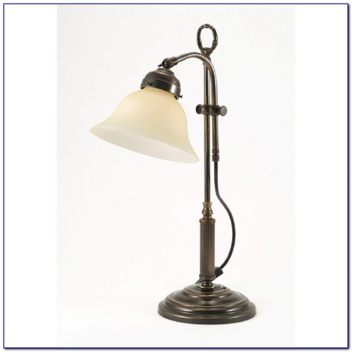 Small Table Lamp Glass Shade