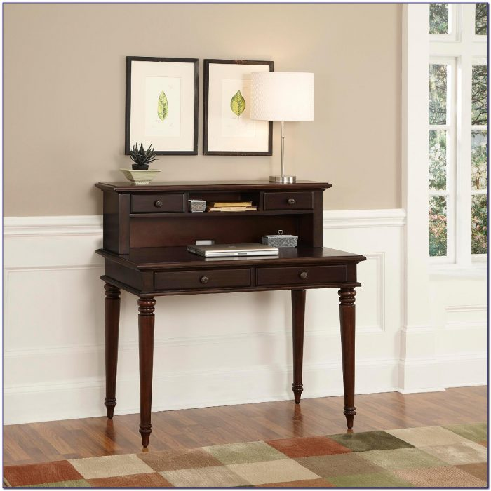 Small White Student Desk With Hutch Desk Home Design