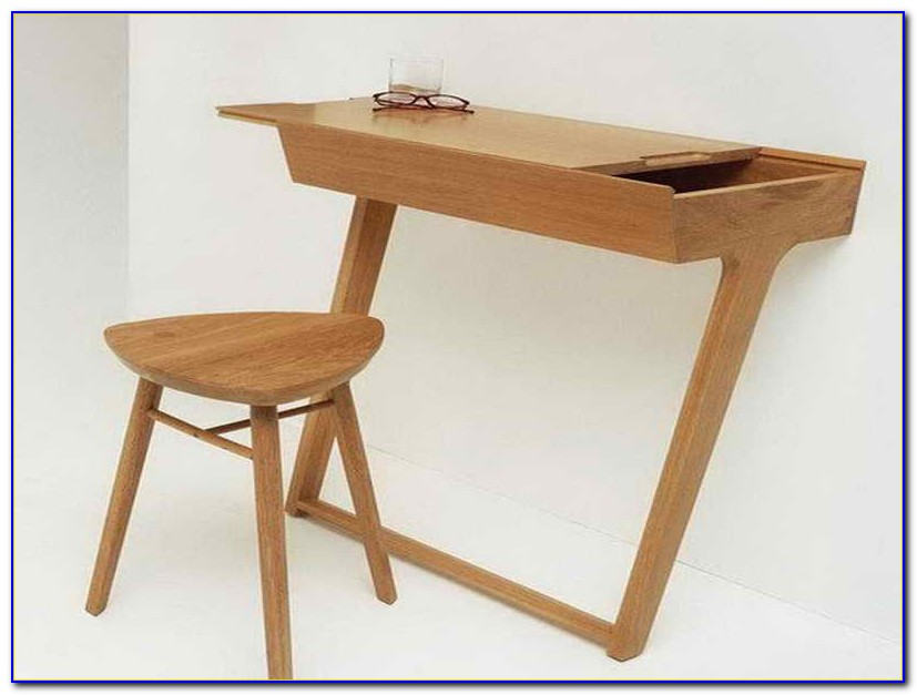 Small wooden computer desks for spaces desk home