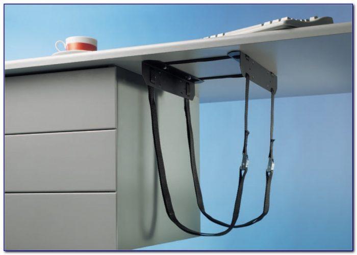 Stationary Mini Cpu Holder Under Desk Mount