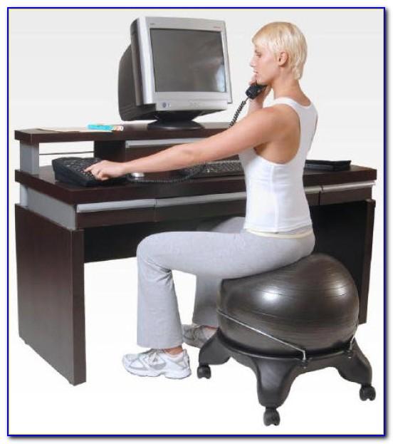 Swiss Ball Office Chair Benefits