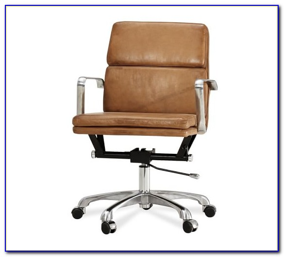 Swivel Leather Desk Chair