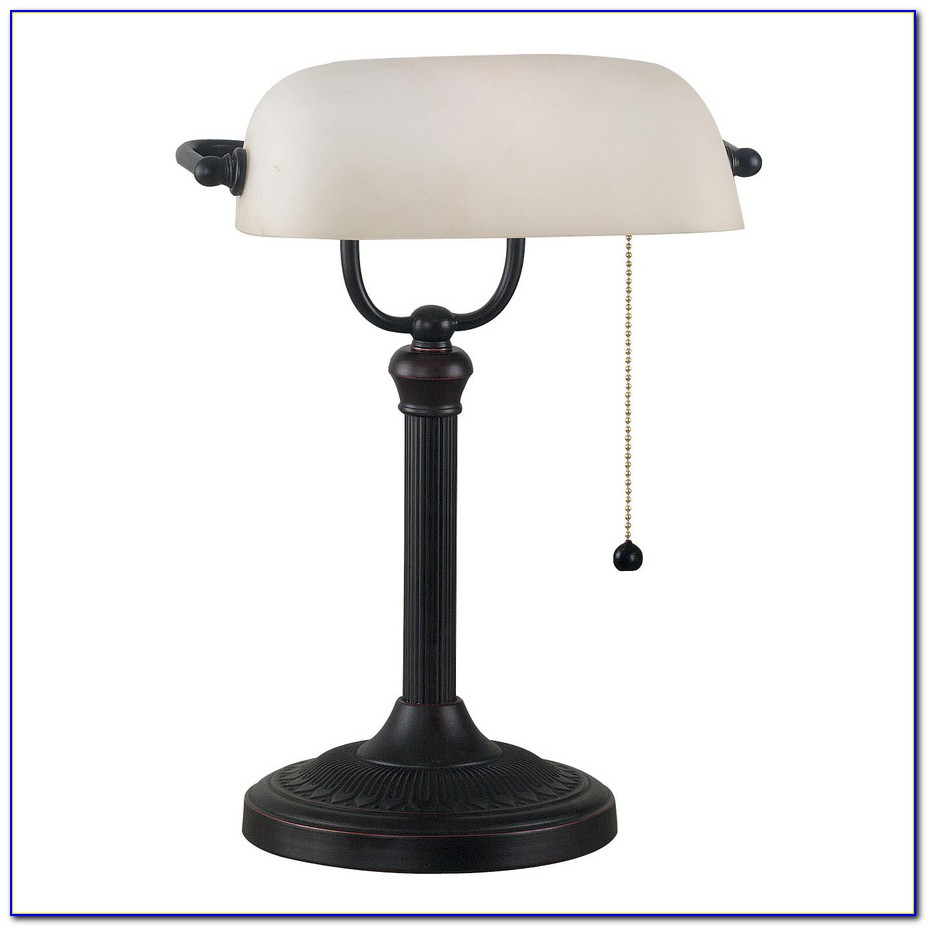Table Lamp Frosted Glass Shade