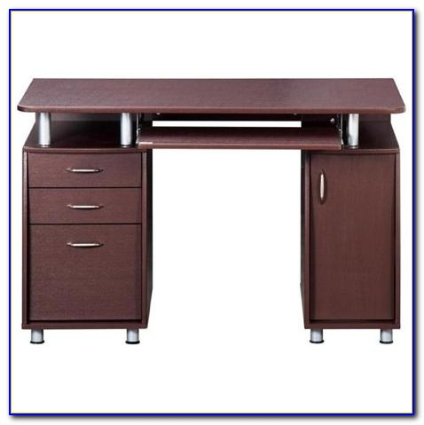 Double Pedestal Computer Desk With Hutch Desk Home
