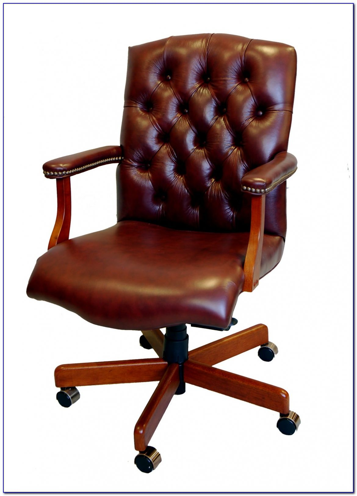 Traditional Leather Executive Desk Chairs