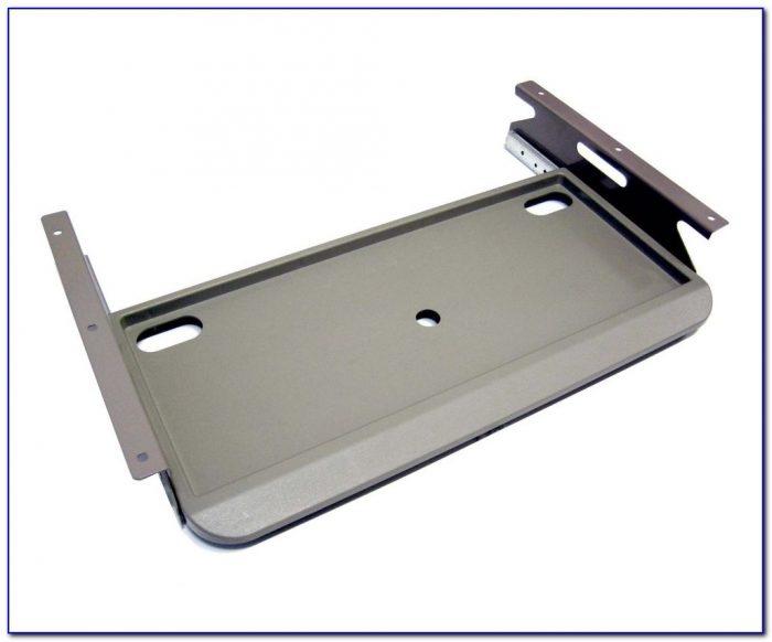 Under Table Keyboard Holder Desk Home Design Ideas
