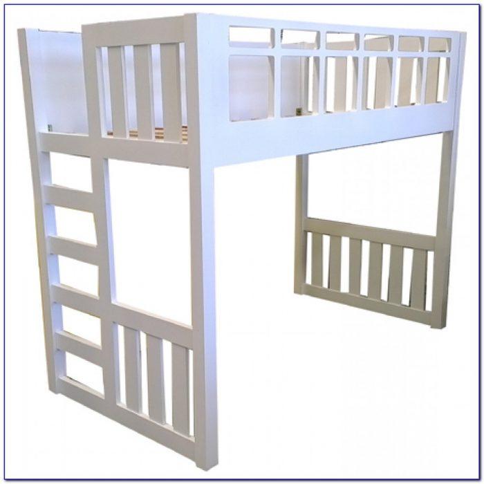 King Single Loft Bed With Desk Melbourne Desk Home