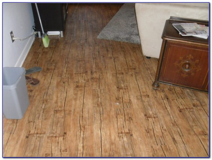 Vinyl Wood Plank Flooring Kitchen