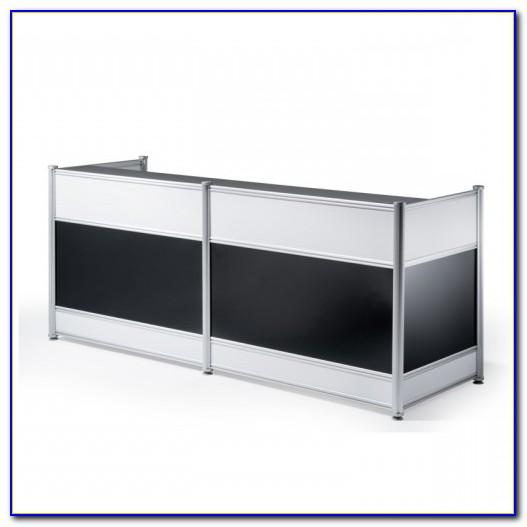 Viva High Gloss Office Desk Black