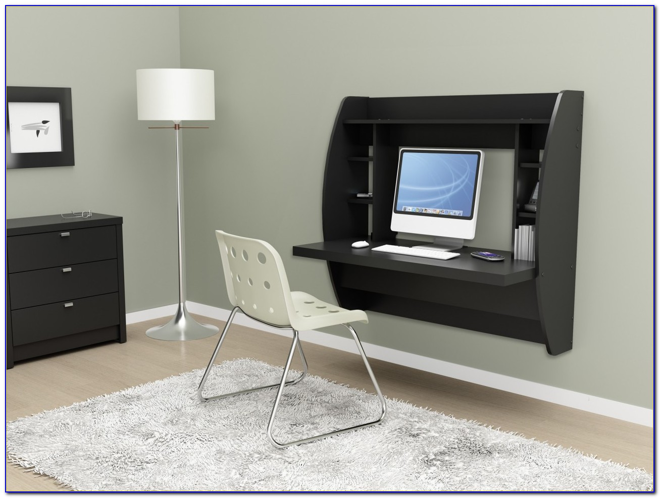 Wall Mounted Computer Desk Staples Desk Home Design