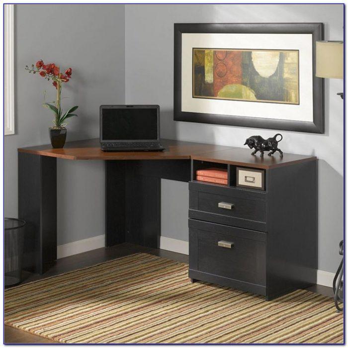 Wheaton Reversible Corner Desk In Hansen Cherry