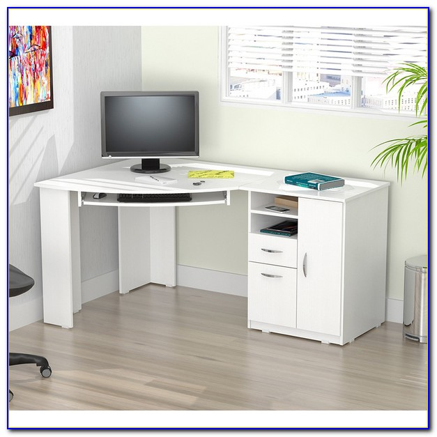 Corner Computer Desk With Drawers Desk Home Design