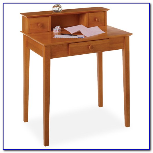 Winsome Wood Writing Desk Honey