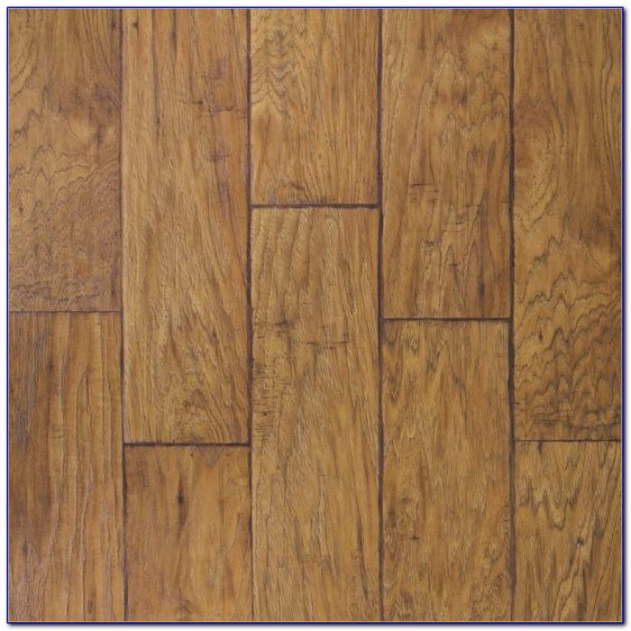 Allen Roth Laminate Flooring Handscraped Driftwood Oak