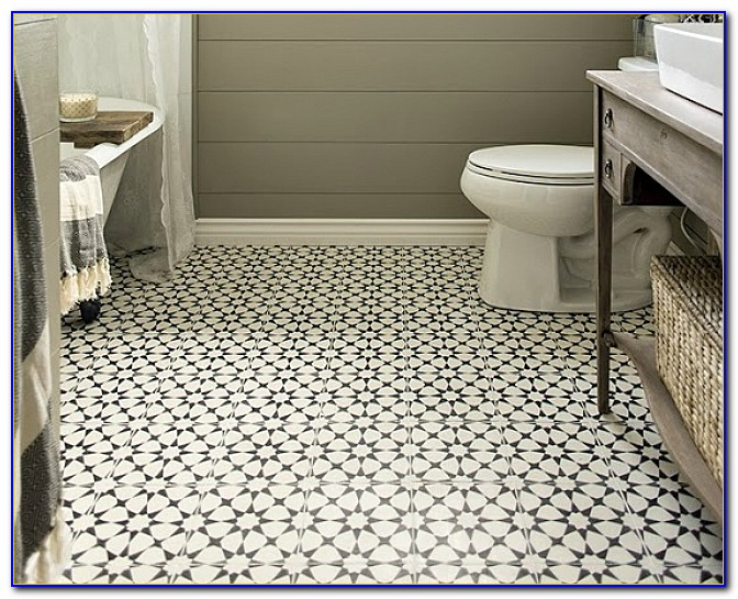 Bathroom Floor Tile Patterns Ideas