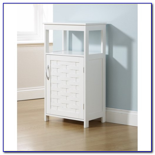 Bathroom Floor Toiletry Storage Cabinet