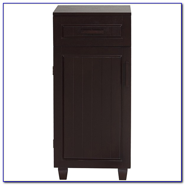 Black Floor Cabinet With Drawers