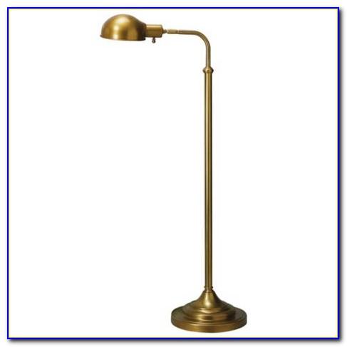 Brass Pharmacy Floor Lamp