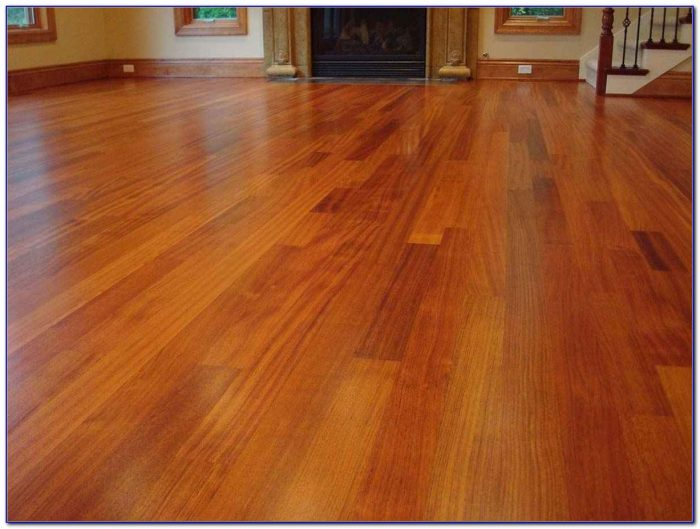 Brazilian Cherry Wood Floors Cleaning