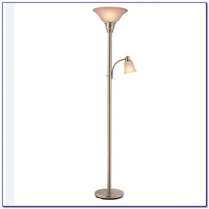 Brushed Nickel Floor Lamp Torchiere