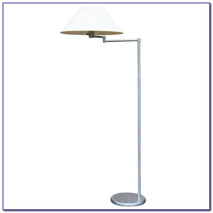 Brushed Nickel Floor Lamp With Touch Control