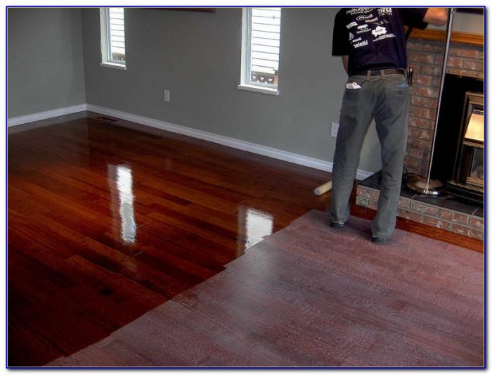 Cleaning Engineered Wood Floors With Mineral Spirits