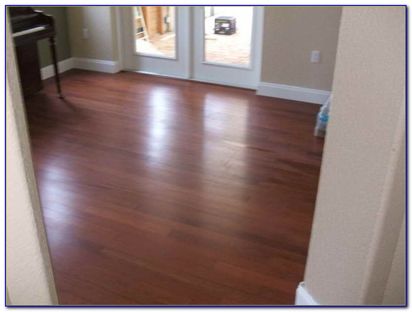 Cleaning Laminate Wood Floors With Vinegar And Water