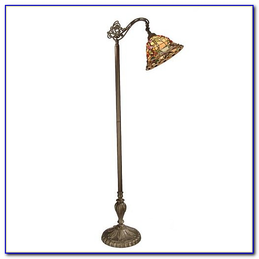 Dale Tiffany Stained Glass Floor Lamps